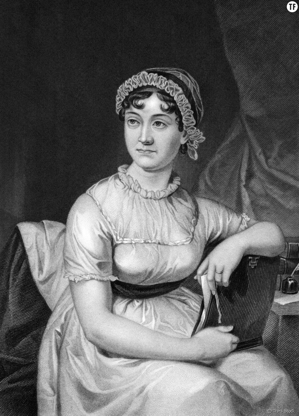 La romancière anglaise Jane Austen