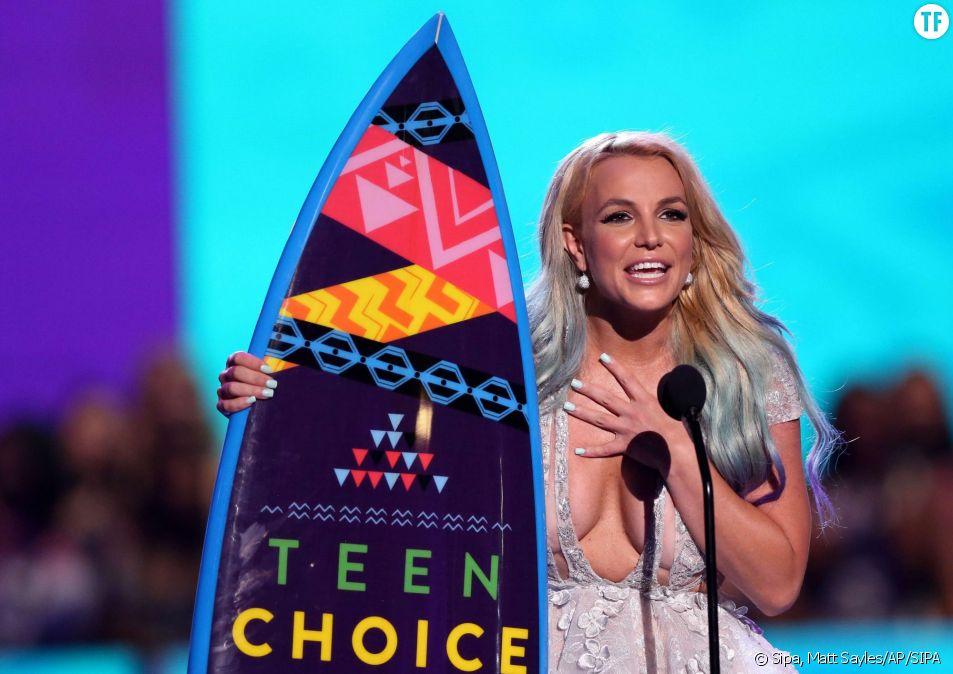 Britney Spears a reçu le prix de l'icone de style.