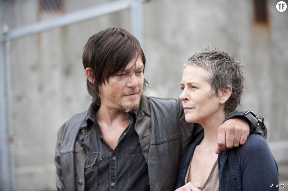 The Walking Dead saison 6 : Carol et Daryl en couple