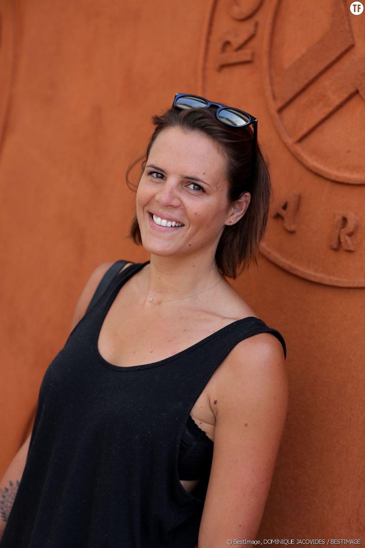 Laure Manaudou à Roland-Garros