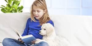 Les chiens, aides précieuses des enfants qui ont des difficultés avec la lecture