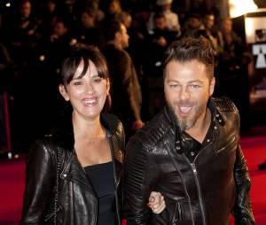 Christophe Mae et sa femme Nadege Sarron - 15eme edition des NRJ Music Awards a Cannes. Le 14 decembre 2013