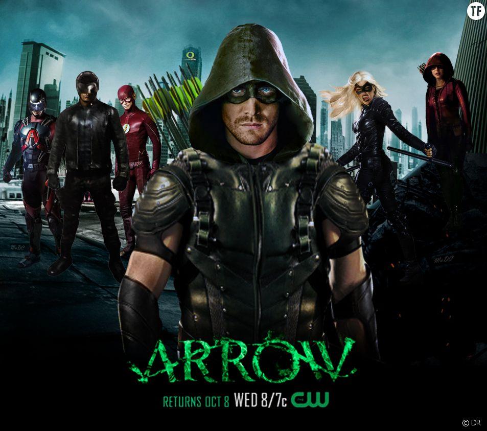 Arrow Saison 4 : Stephen Amell rêve de Batman et aura une nouvelle copine -  Terrafemina