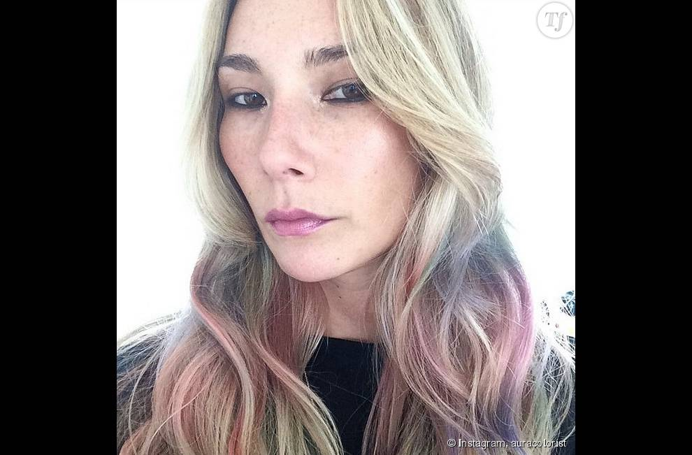 """L' """"Opal Hair"""" vu par la coloriste Aura Friedman."""