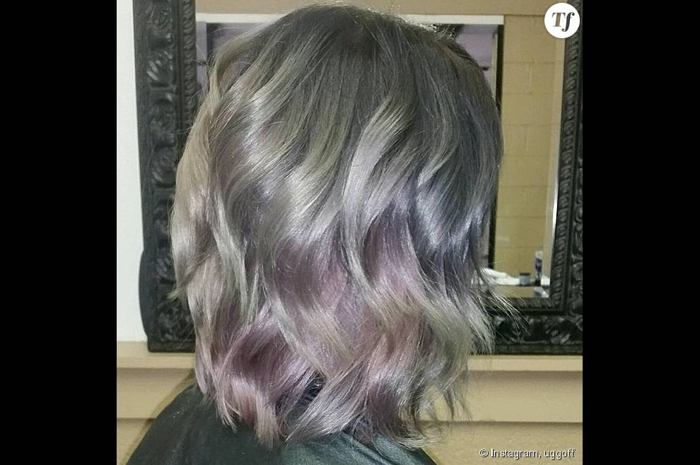 """L' """"Opal Hair"""" ressemble au dégradé de couleur du """"Rainbow hair"""", mais dans des tons pastels plus nuancés."""