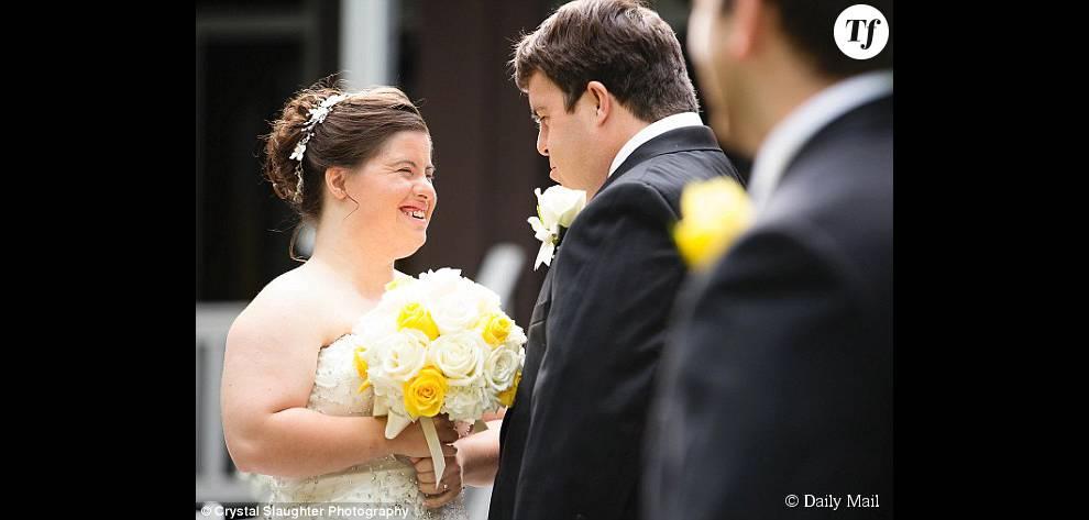 Jilian et Ryan, radieux pour leur mariage