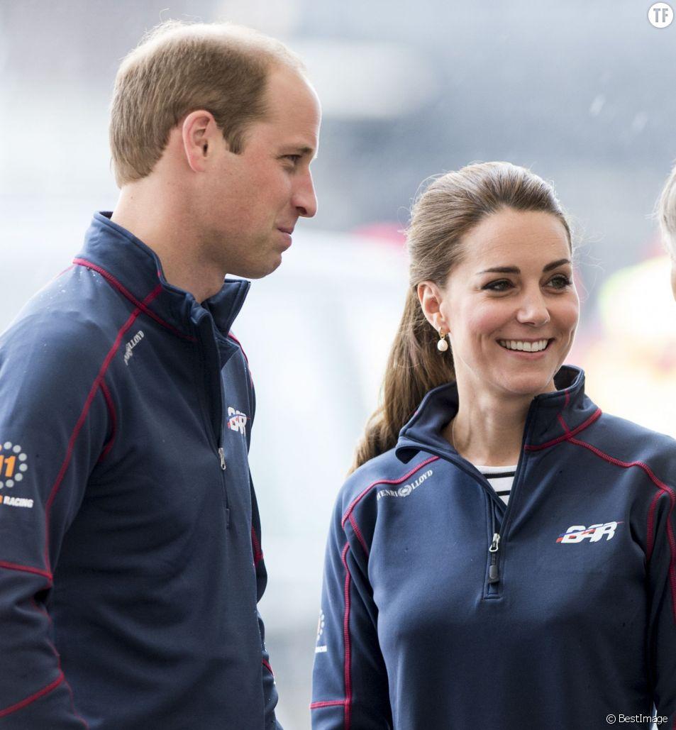 La dernière sortie officielle de Kate Middleton avec son époux le Prince William, le 26 juillet à l'America's Cup à Portsmouth