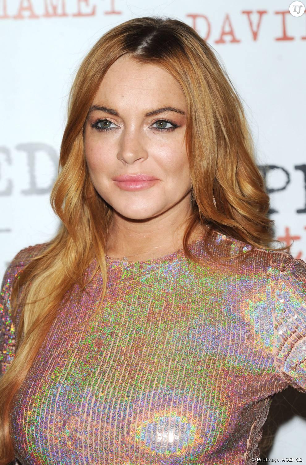 Lindsay Lohan, bien plus jolie quand elle opte pour sa vraie couleur de cheveux, le roux doux.