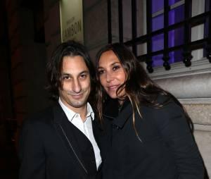 La chanteuse et son ex compagnon, le musicien Philippe Paradis (2012)