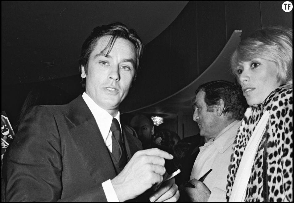 Alain Delon et son ex-compagne Mireille Darc