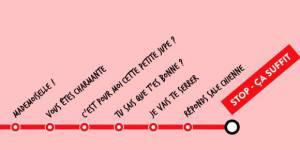 """Harcèlement dans les transports : la campagne """"Stop-Ça suffit"""" pour combattre le fléau"""