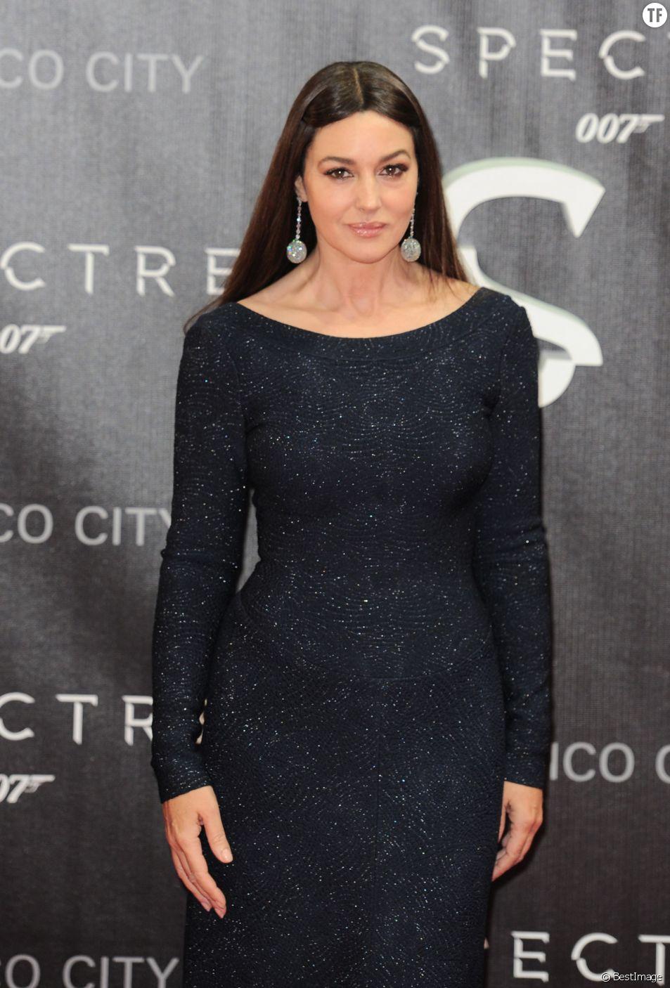 """Monica Bellucci - Première du film """"007 Spectre"""" à Mexico, le 2 novembre 2015"""