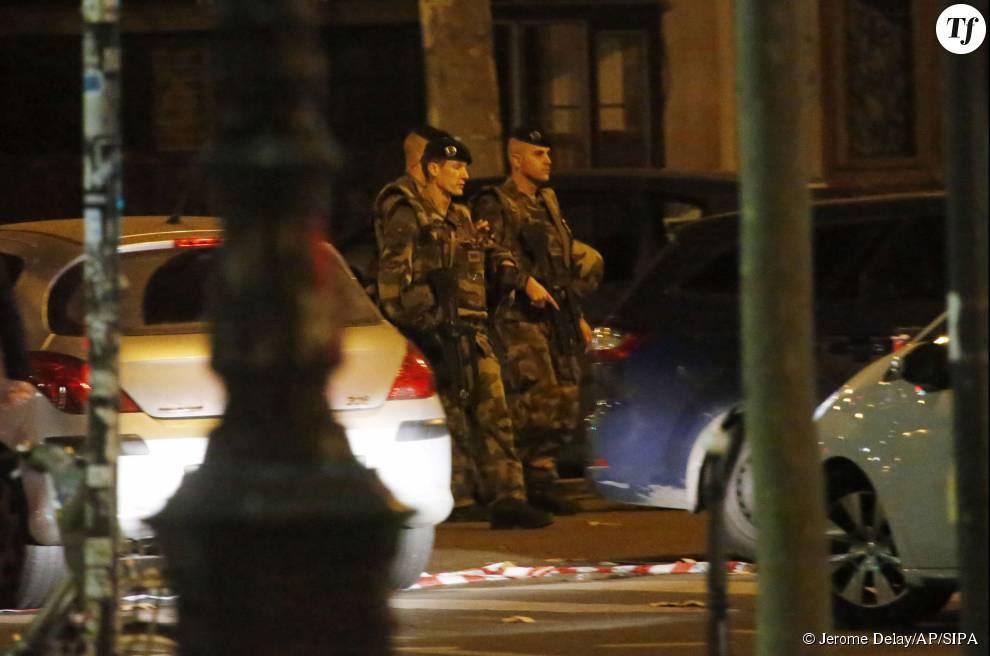 Photos des attentats du 13 novembre 2015 : l'armée envahie les rues de Paris