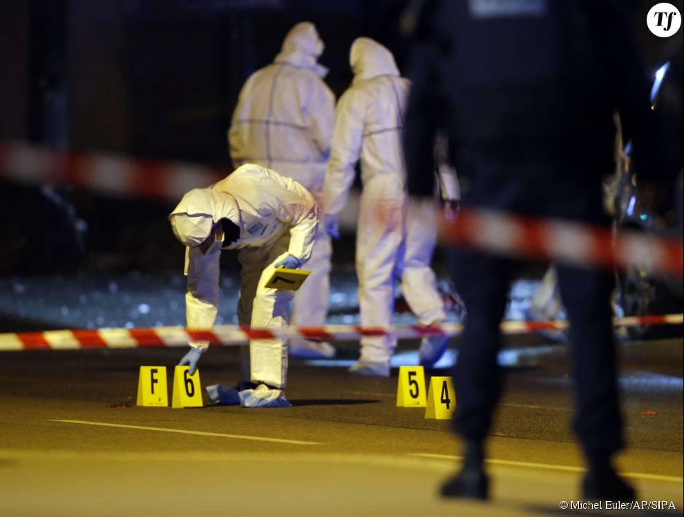 Photos des attentats du 13 novembre 2015 : la police scientifique commence son enquete au Stade de France