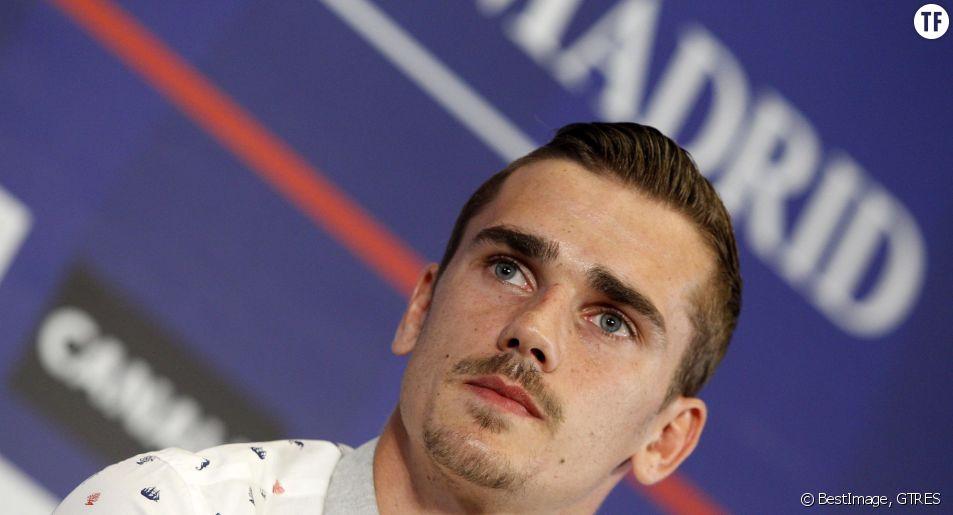 L'attaquant de l'équipe de France de football, Antoine Griezmann