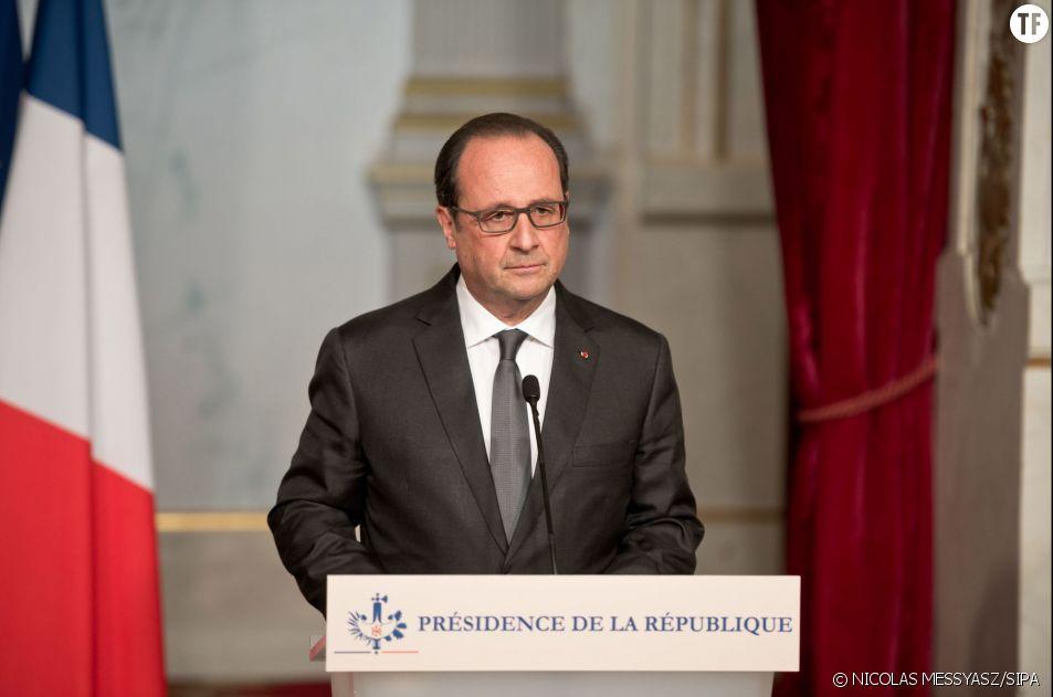 François Hollande annonce l'état d'urgence
