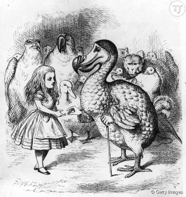 Illustration originale de John Tenniel