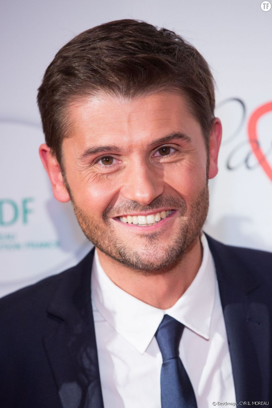 L'animateur Christophe Beaugrand