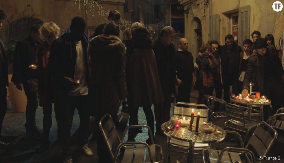 L'hommage de Plus Belle la Vie aux victimes des attentats de Paris