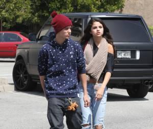 Selena Gomez et Justin Bieber en 2012