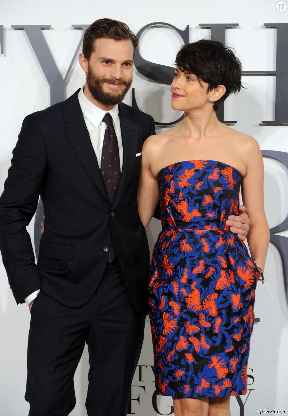 L'acteur Jamie Dornan et sa femme Amélia Warner