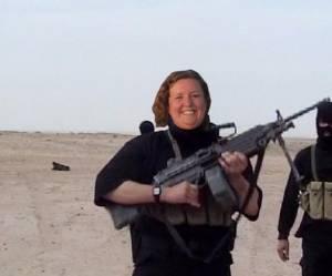 Linda a promis de détruire Daech et le monde entier la soutient