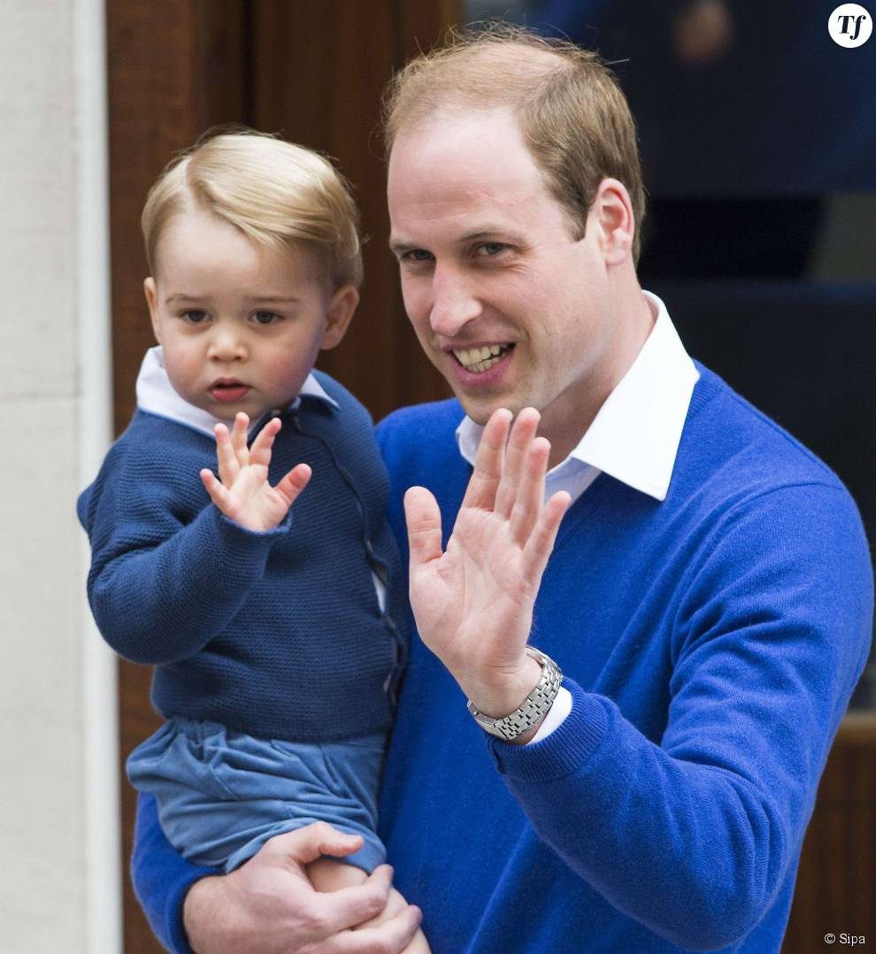 Le prince William et son fils le prince George