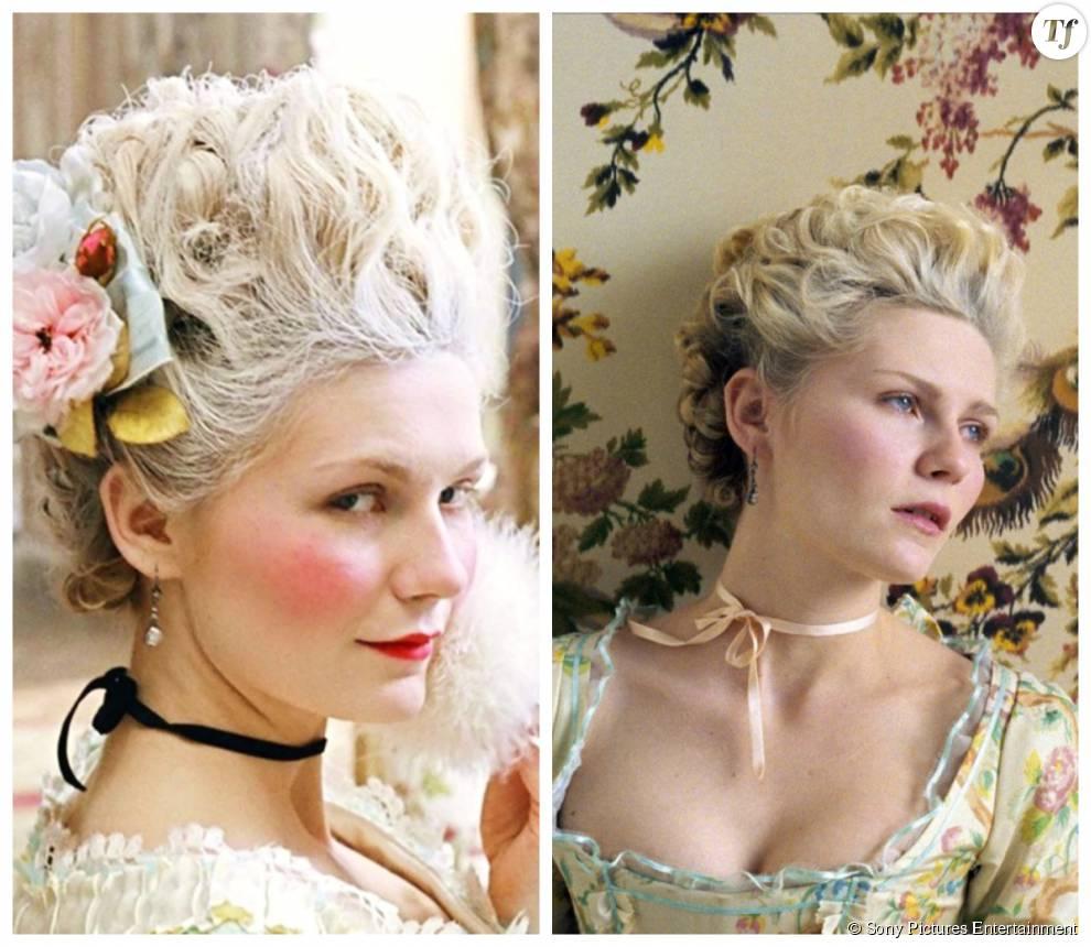 """Kirsten Dunst dans le film """"Marie-Antoinette"""" sorti en 2006"""