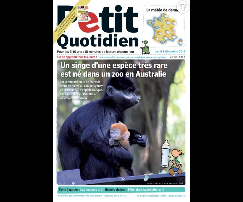 Abonnement le petit quotidien partir de 11 50 euros par - Mon petit quotidien abonnement ...