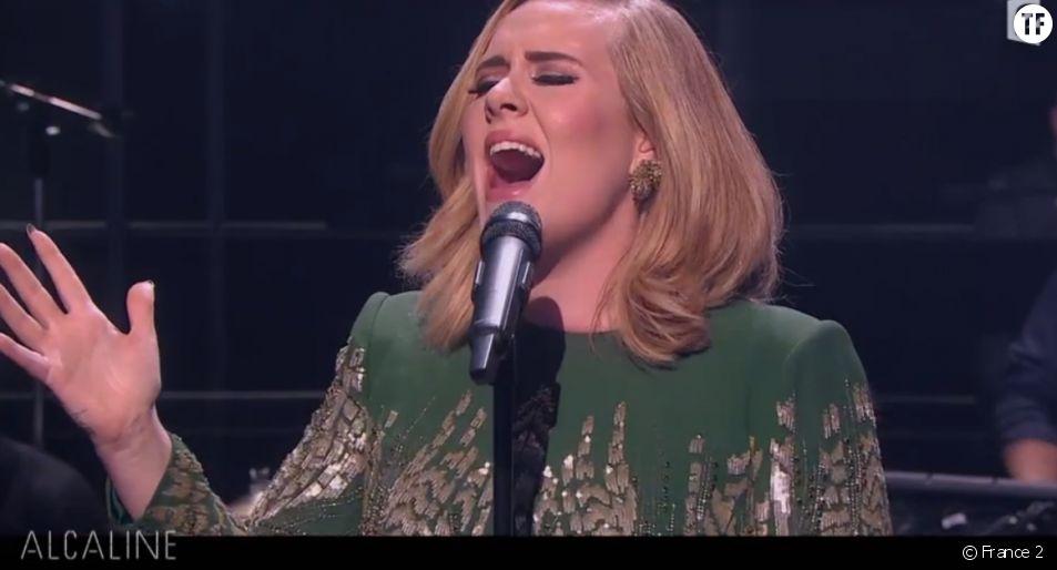 Adele : revoir son concert Alcaline avec Graham Norton sur France 2 replay pluzz
