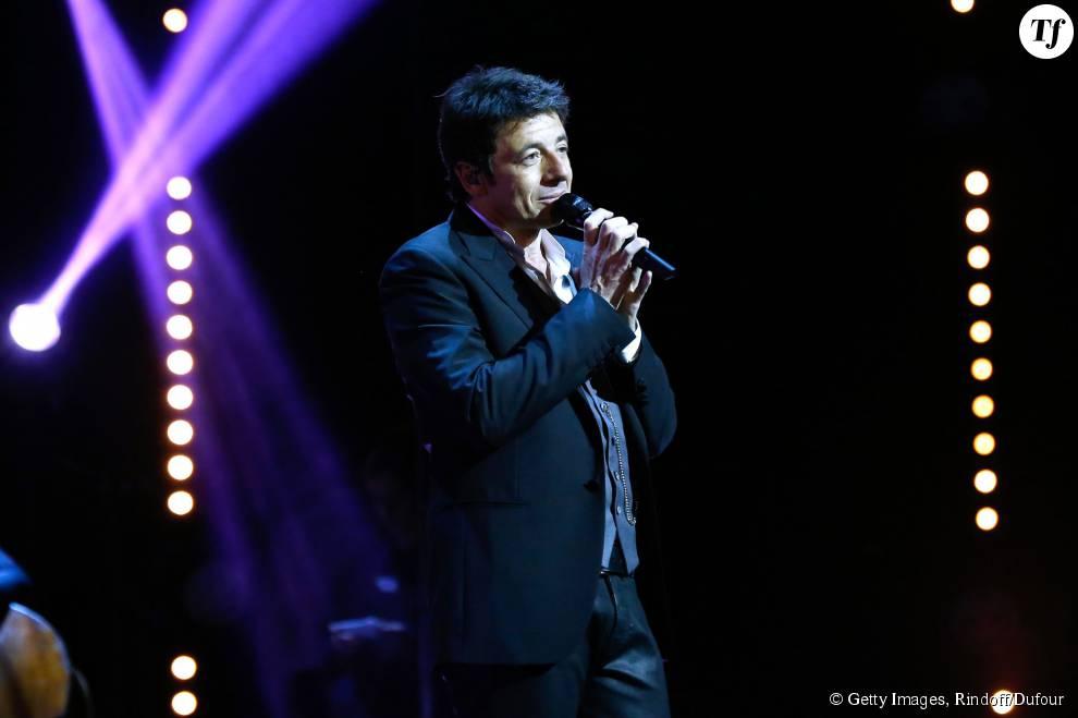 Le chanteur Patrick Bruel