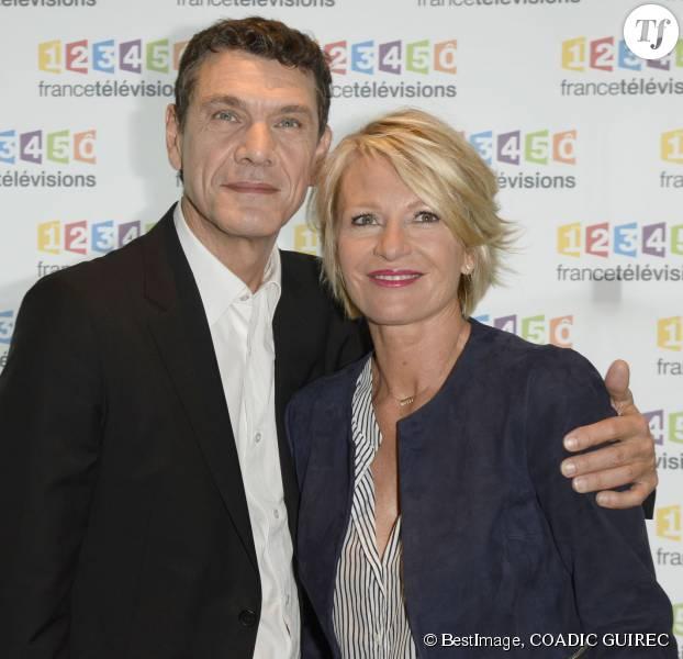 Téléthon 2015 : Marc Lavoine et Sophie Davant