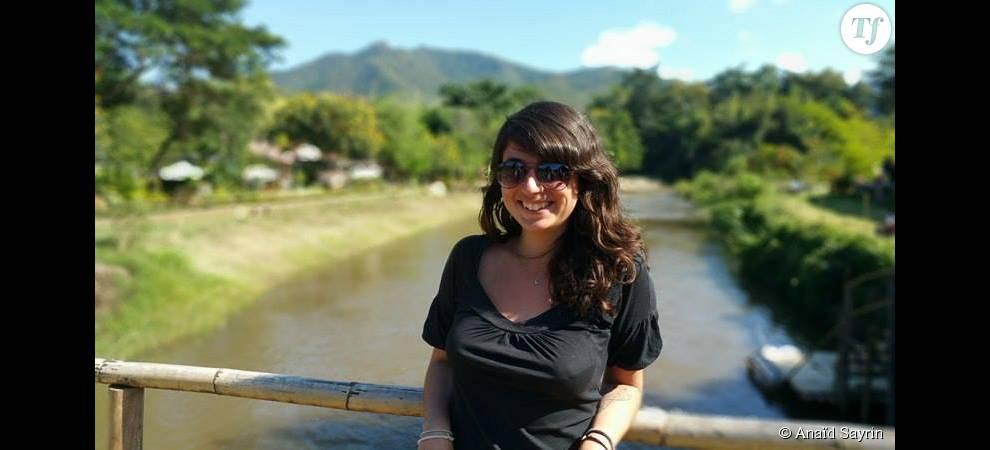 Anaïd a quitté la France pour voyager en Thaïlande