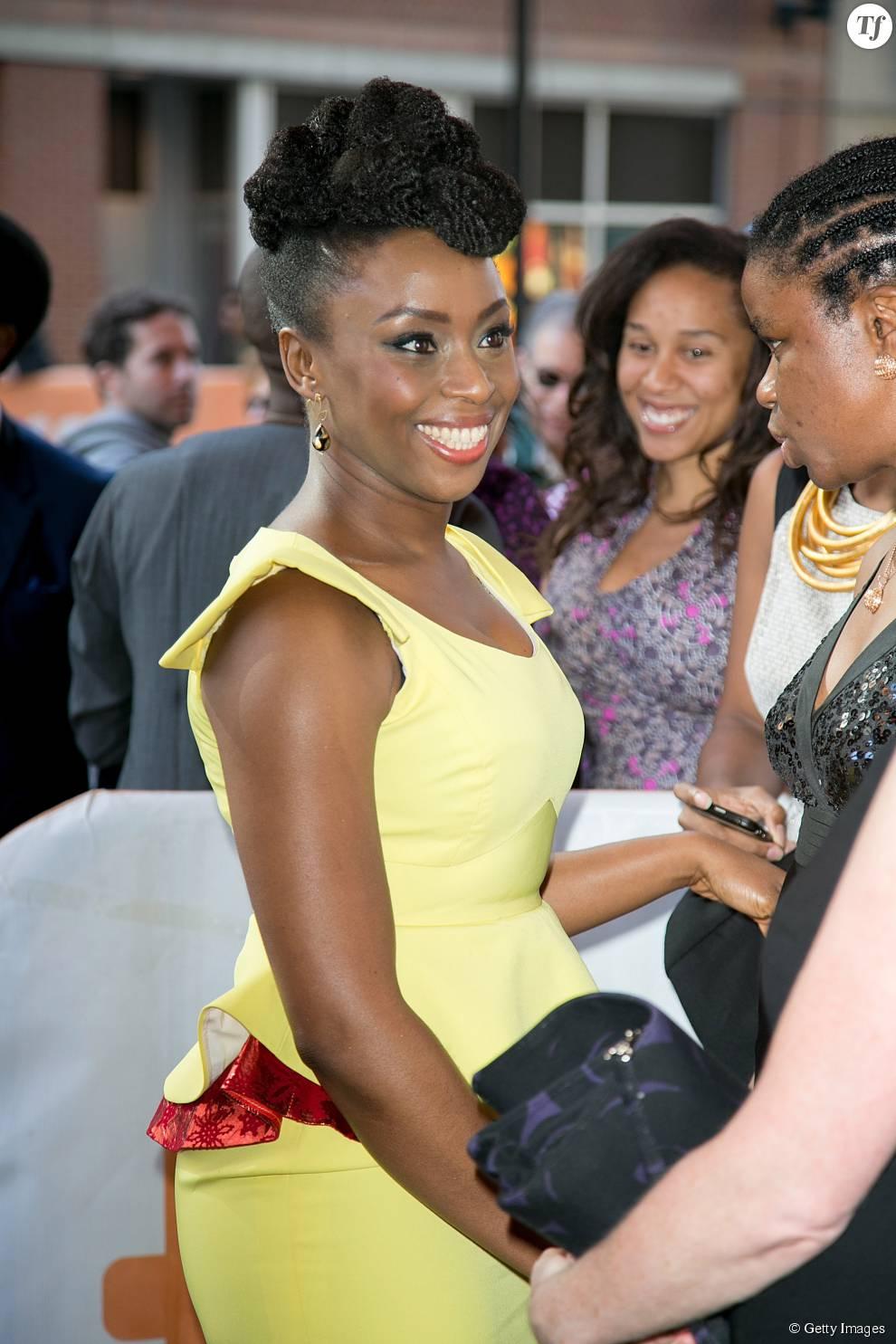 La romancière nigériane Chimamanda Ngozi Adichie