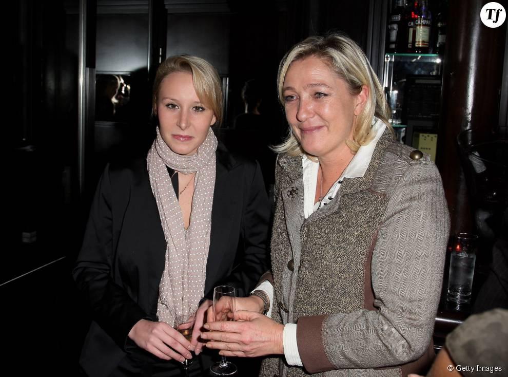 Marion Marechal-Le Pen et sa tante Marine Le Pen le 13 novembre 2012