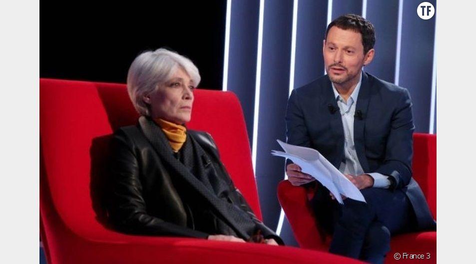 Françoise Hardy sur le Divan de Marc-Olivier Fogiel.