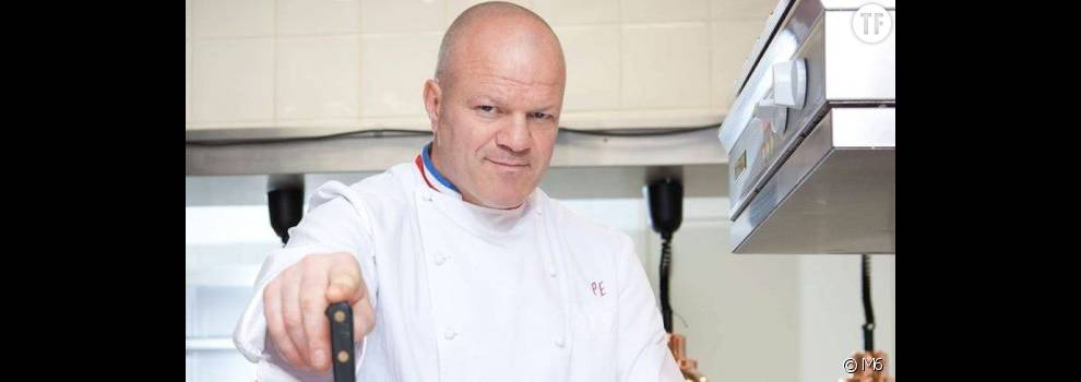 Le chef philippe etchebest dans cauchemar en cuisine - Cauchemar en cuisine etchebest replay ...