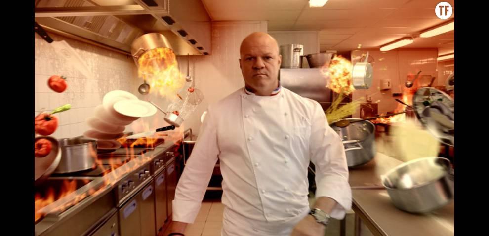 Philippe etchebest dans cauchemar en cuisine sur m6 - Cauchemar en cuisine philippe etchebest ...