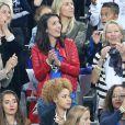 Jennifer Giroud lors du match du quart de finale de l'UEFA Euro 2016 France-Islande au Stade de France à Saint-Denis, France le 3 juillet 2016