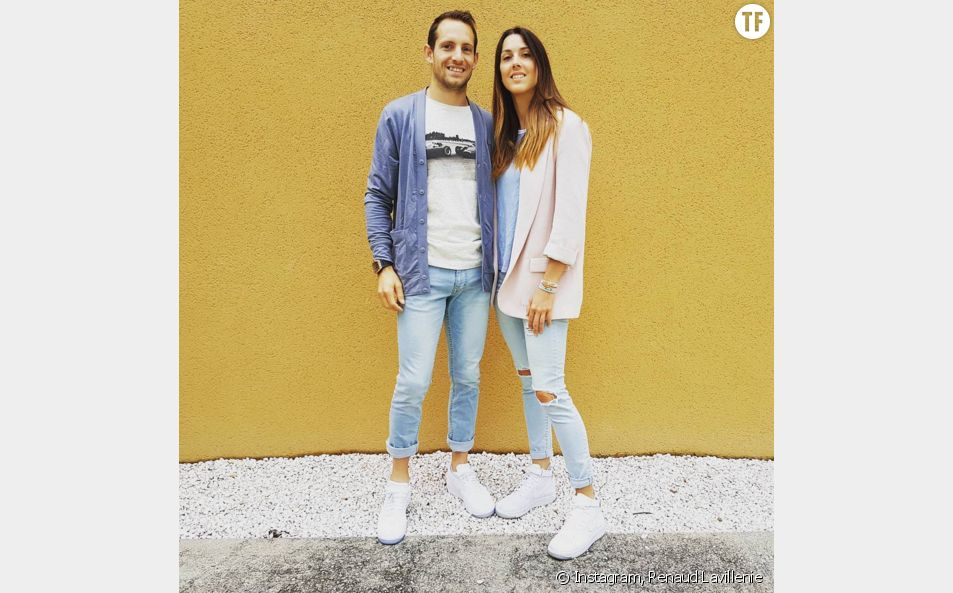 Renaud Lavillenie et sa compagne Anaïs Poumarat