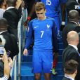 Le déception d'Antoine Griezmann en finale de l'EURO 2016 ce dimanche 10 juillet au Stade de France