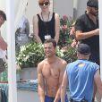 """Jamie Dornan sur le tournage du film """"50 nuances plus sombres"""" dans le sud de la France à Saint-Jean Cap Ferrat le 12 juillet 2016"""