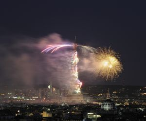 14 juillet 2016 : voir le feu d'artifice à Paris en direct et en replay