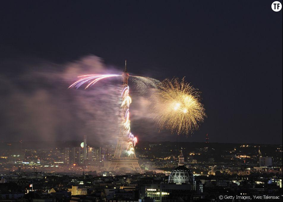 Le feu d'artifice du 14 juillet 2016 en direct et en replay
