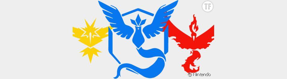 Les factions dans Pokémon Go