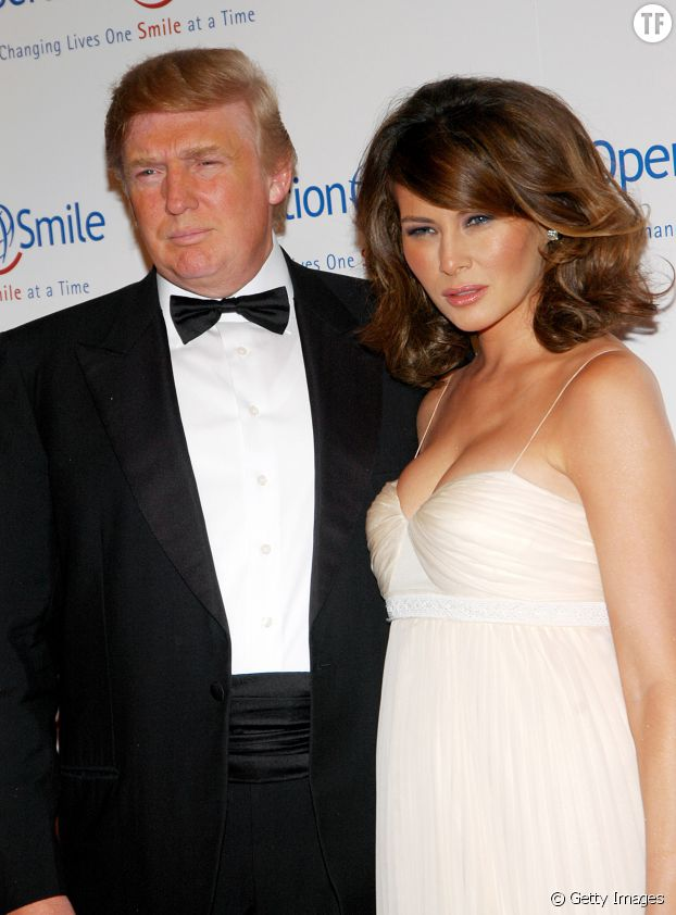 Melania et Donald Trump au dîner annuel d'Operation Smile, à New York