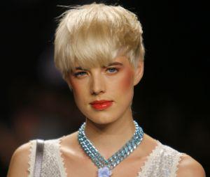 Le top Agyness Deyn a bâti sa renommé grâce à son style androgyne et à sa coiffure courte culte.