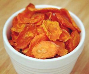 La recette délicieusement healthy des chips de carottes