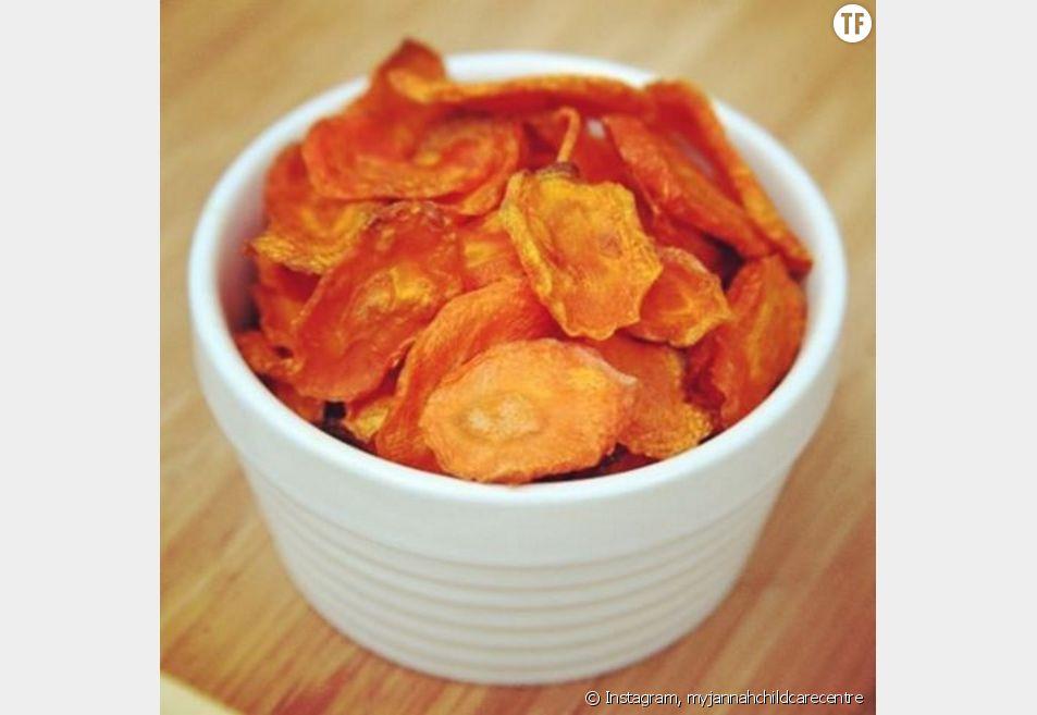 La délicieuse recette healthy des chips de carottes