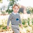Le Prince George photographié pour son 3ème anniversaire ce vendredi 22 juillet